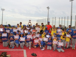 Finaliza la 8ª Liga Intersemanal Pequeñas Ligas 2014