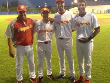 Martinez, Matías y Tavarez con la Selección Absoluta
