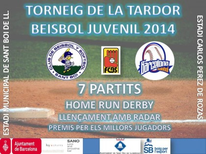 'Torneig de la Tardor de Beisbol Juvenil 2014′