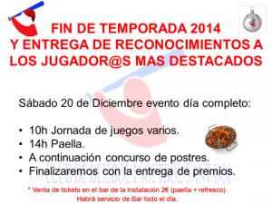 Fiesta Fin de Temporada 2014