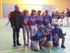 Campeones Torneo Sofbol Sala Infantil 2014