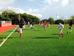 Pruebas físicas para Academia de beisbol de Catalunya