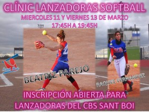 Clínic de Lanzadoras de Softball por Beatriz Parejo