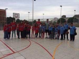 Partido de Beisbol Extraescolar en el colegio Fernandez Lara