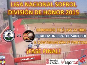 Empieza la Fase Final de Liga Nacional de Sofbol DH