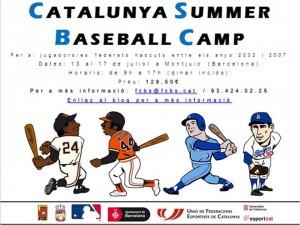 Catalunya Summer Baseball Camp
