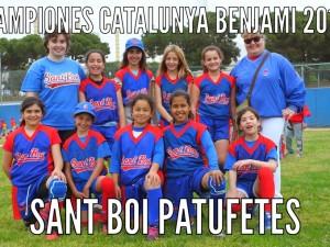 Sant Boi Patufetes Campeonas de Catalunya Benjamin 2015