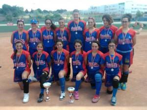 Subcampeonas de España de Sofbol Cadete 2015