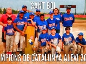 Sant Boi 'Pitus' Campeon de Catalunya Alevin 2015