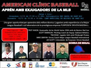Cancelado el American Baseball Clinic