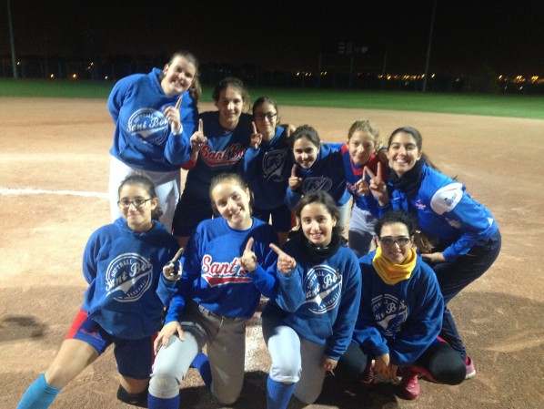 SB Angels. Campeonas Liga Invernal 2015