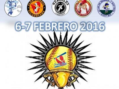 Nuevo torneo en Sant Boi de Sofbol. Wintercup Softball U19 (Actualización)
