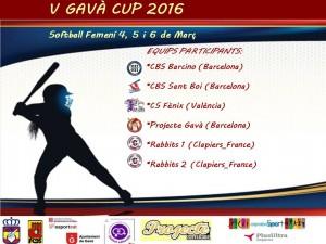 V Torneo Gavà Cup de Sofbol Senior