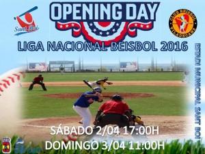 4 días para el Opening Day de Liga Nacional Beisbol DH 2016