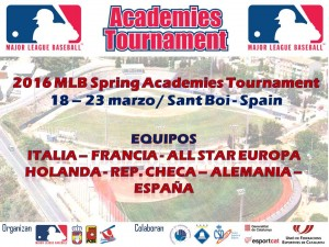 Cuenta atrás para MLB Acadamies Tournament 2016