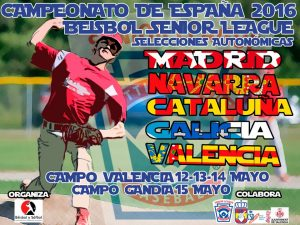 Catalunya Little/Senior League se juega el Campeonato en Valencia