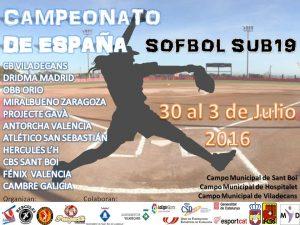 En marcha, el Nacional Sofbol Juvenil 2016