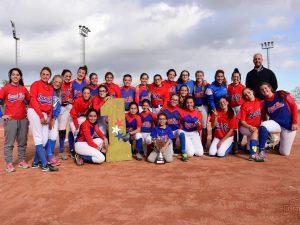 El CBS Sant Boi es Campeón de Copa Catalana Sofbol Cadete y consigue el TRIPLETE