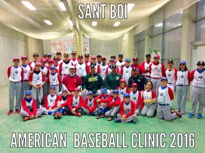 Gran éxito en el American Baseball Clinic 2016