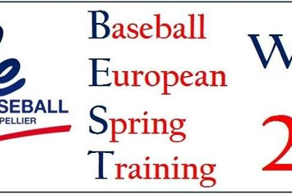 Sant Boi Sub16 al Baseball European Spring Tournament en Montpellier