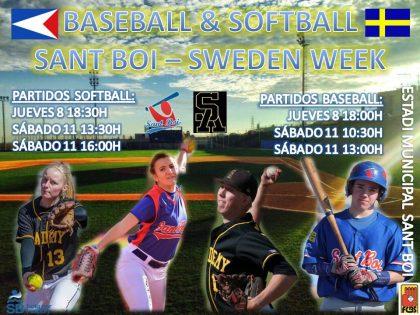 Llega la 3ª edición de Baseball & Softball Sant Boi – Sweden Baseball Week