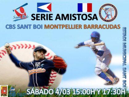 Serie amistosa contra Montpellier Barracudas