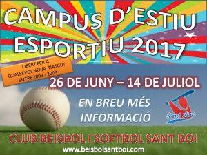 Campus d'Estiu Esportiu 2017