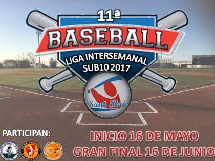 Llega la 11ª Liga Intersemanal Sub10 2017