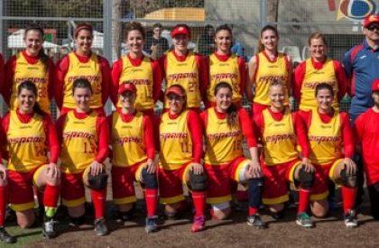 5 del CBS Sant Boi con la Selección Nacional de Sofbol Absoluta
