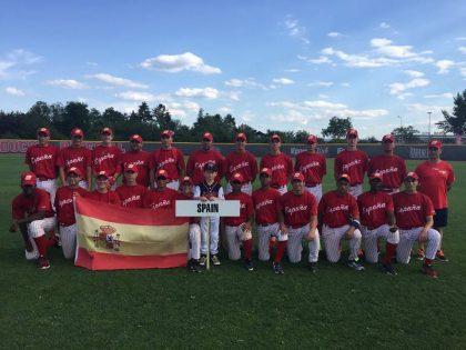 Buen papel de los nuestros con España Sub15