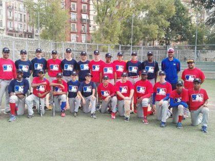7 del Sant Boi en el MLB Camp en Valencia