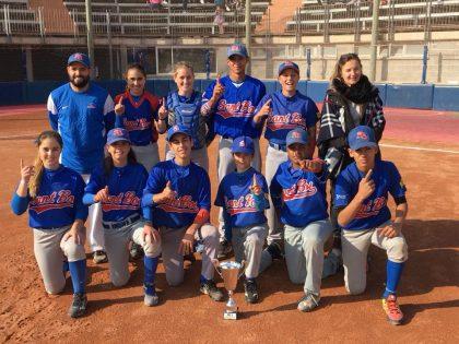 Sant Boi. Campeón de Copa Catalana Beisbol Sub14 2017