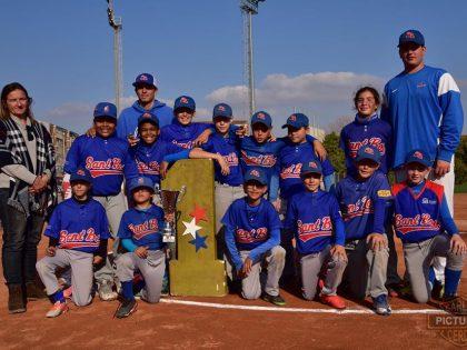 Sant Boi. Campeón de Copa Catalana de Beisbol Sub10