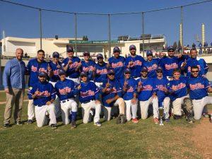 Sant Boi. Campeón de Copa Catalana Beisbol Senior 2017