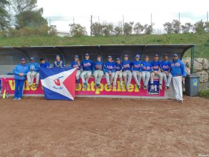 El Sub16 Beisbol 4º en el Baseball European Spring Training en Montpellier
