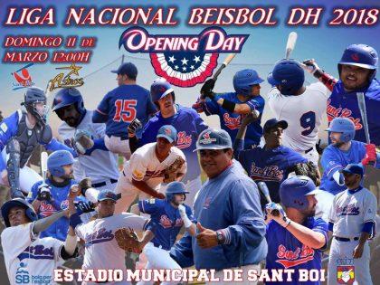 6 días para el Opening Day de Liga Nacional de Beisbol DH 2018