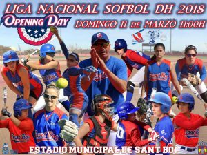 Domingo 11. Opening Day Sofbol DH 2018