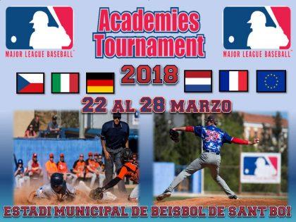 Una semana para iniciar el MLB Academies Tournament 2018